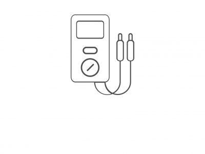 icona tester home grigia